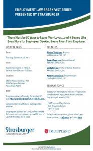 Employment Law Breakfast Series (Plano-September 2015)-v3